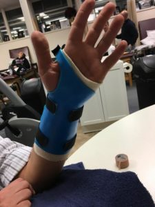 Occupational therapy splinting